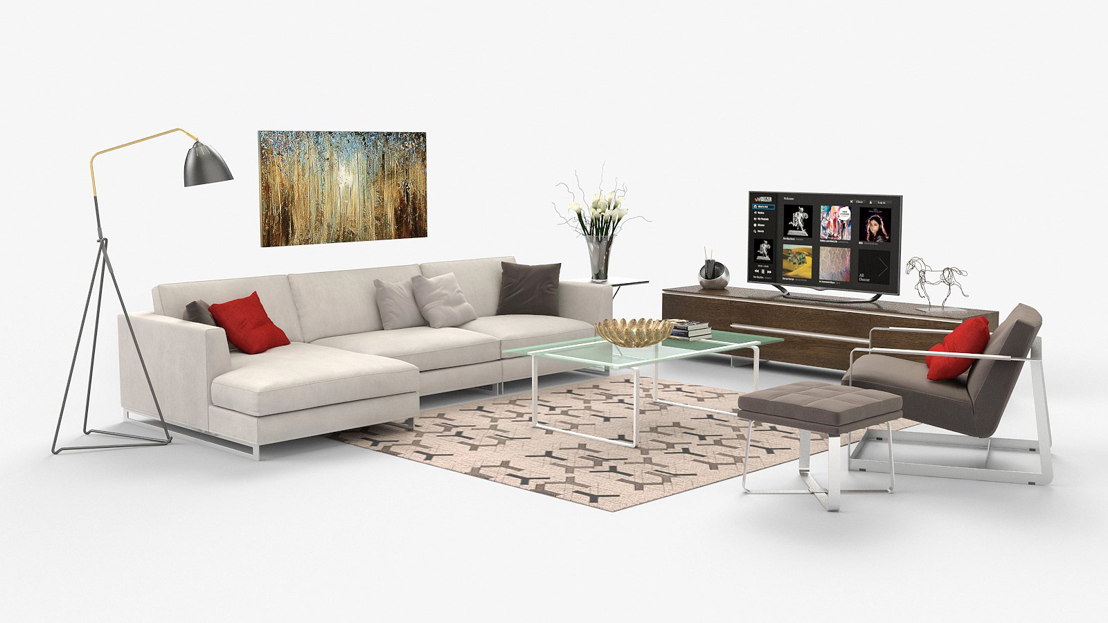 3D Templates U2013 3d Virtual Staging Home, 3d Virtual Furniture ...